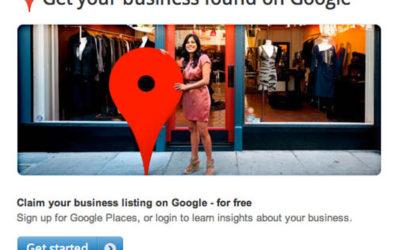 ¿Cómo crear una cuenta en Google Places?