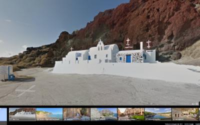 Google Maps Street View ahora en Grecia